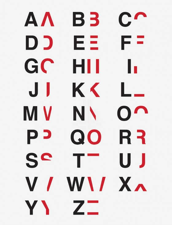 Daniel Britton's font designed to emulate the challenges posted by dyslexia for those without the condition