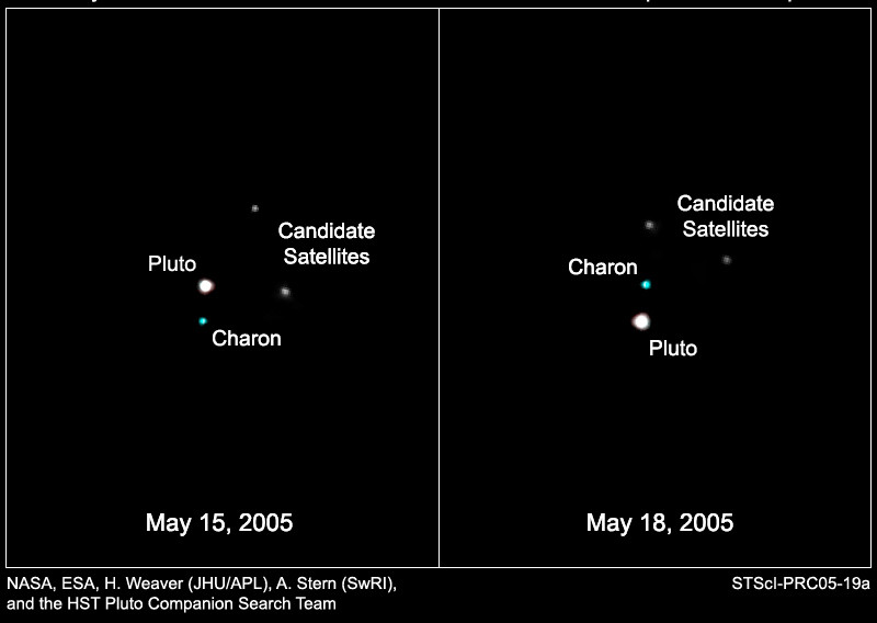 Pluto Moons Nix And Hydra S: Our First Look At Pluto's Moons, Nix And Hydra