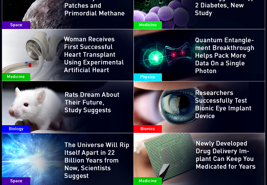 This Week in Science: Quantum Entanglement, Bionic Eyes, Drug Delivery Implants, Artificial Hearts, and More!