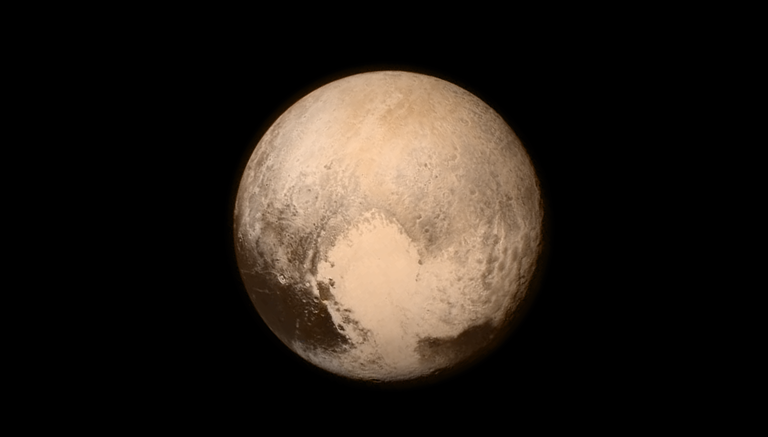Pluto full color