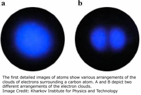 what an atom looks like