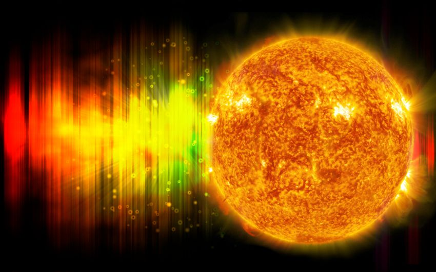 Sun Electromagnetic Radiation