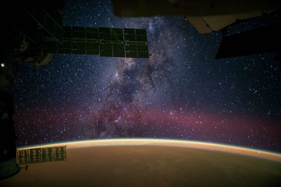 Milky Way from the ISS. Image Credit:
