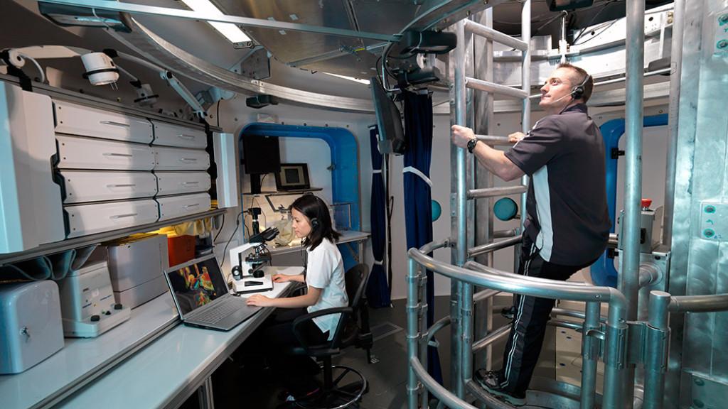 The Human Exploration Research Analog (HERA) at NASA's Johnson Space Center. Credits: NASA