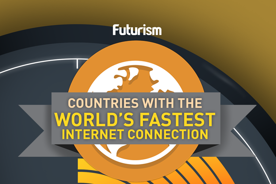 Countries with the fastest internet connection