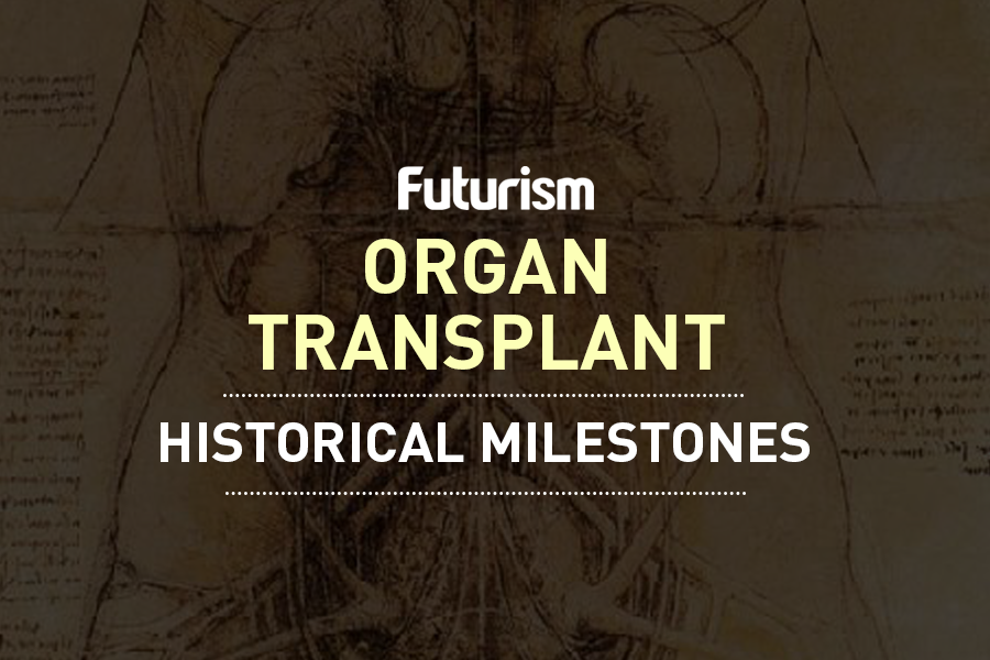 An Exponential Timeline of Organ Transplants