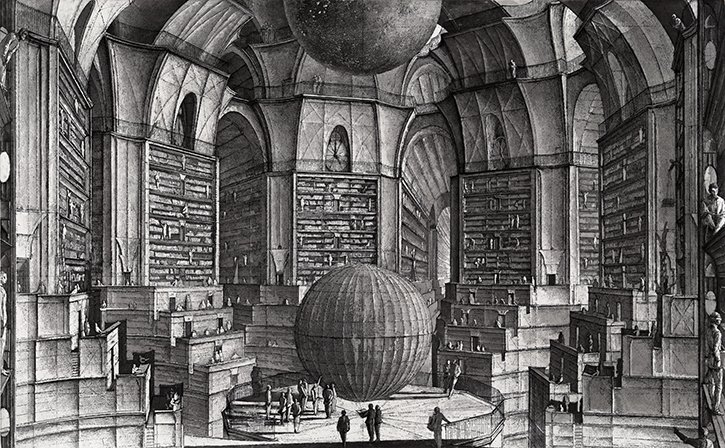 meet the library of babel every possible combination of letters that has been or could be written