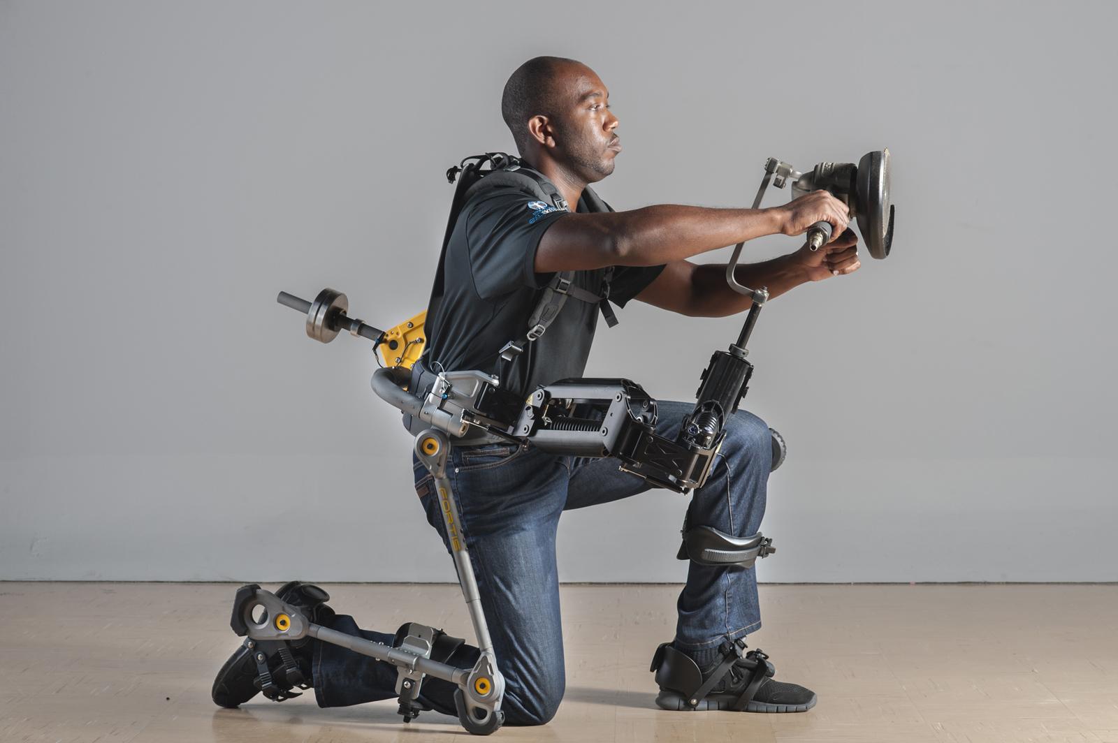 Fortis exoskeleton. Image credit: FORTIS
