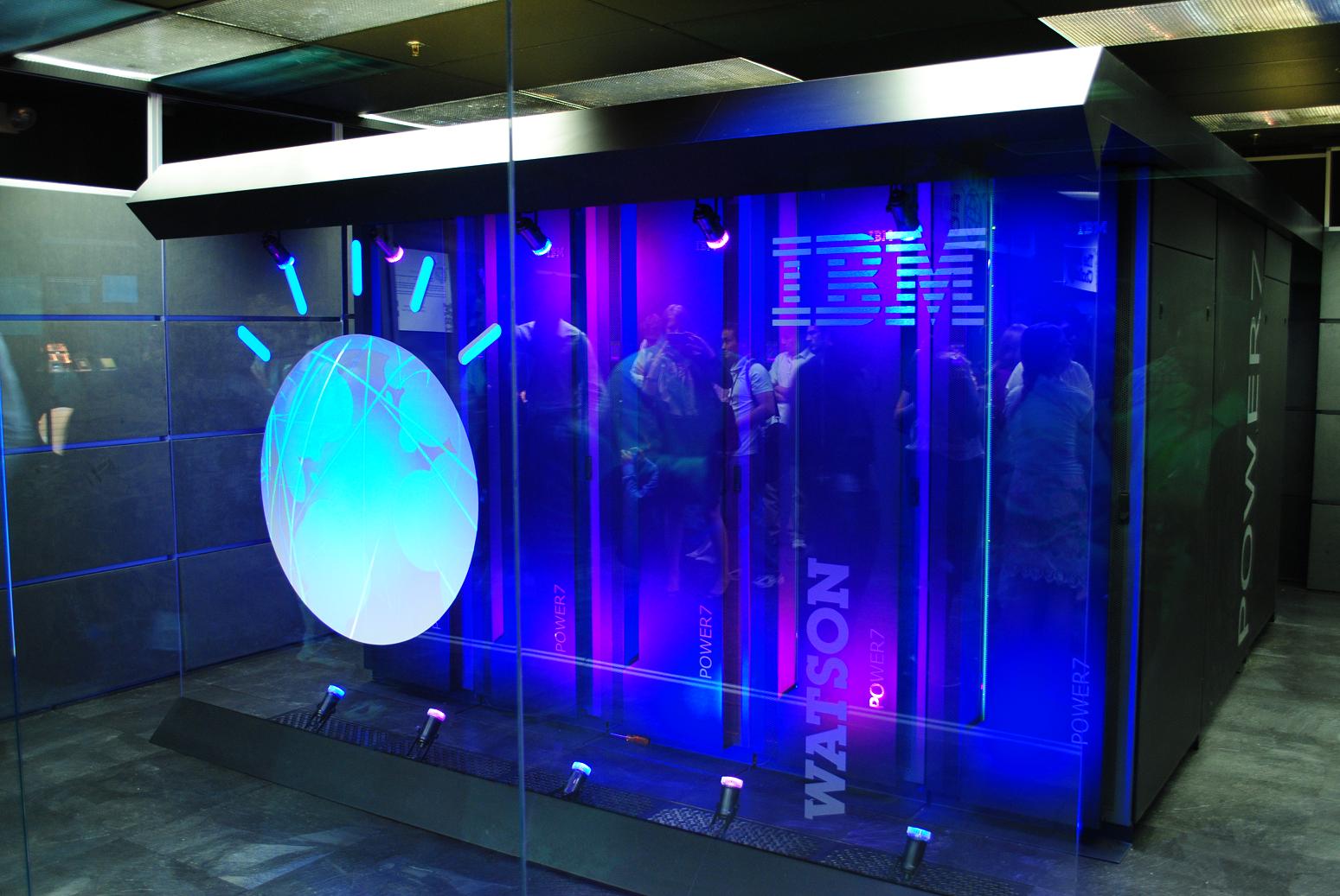 IBM's Watson computer, Yorktown Heights, NY. Via: WikiMedia