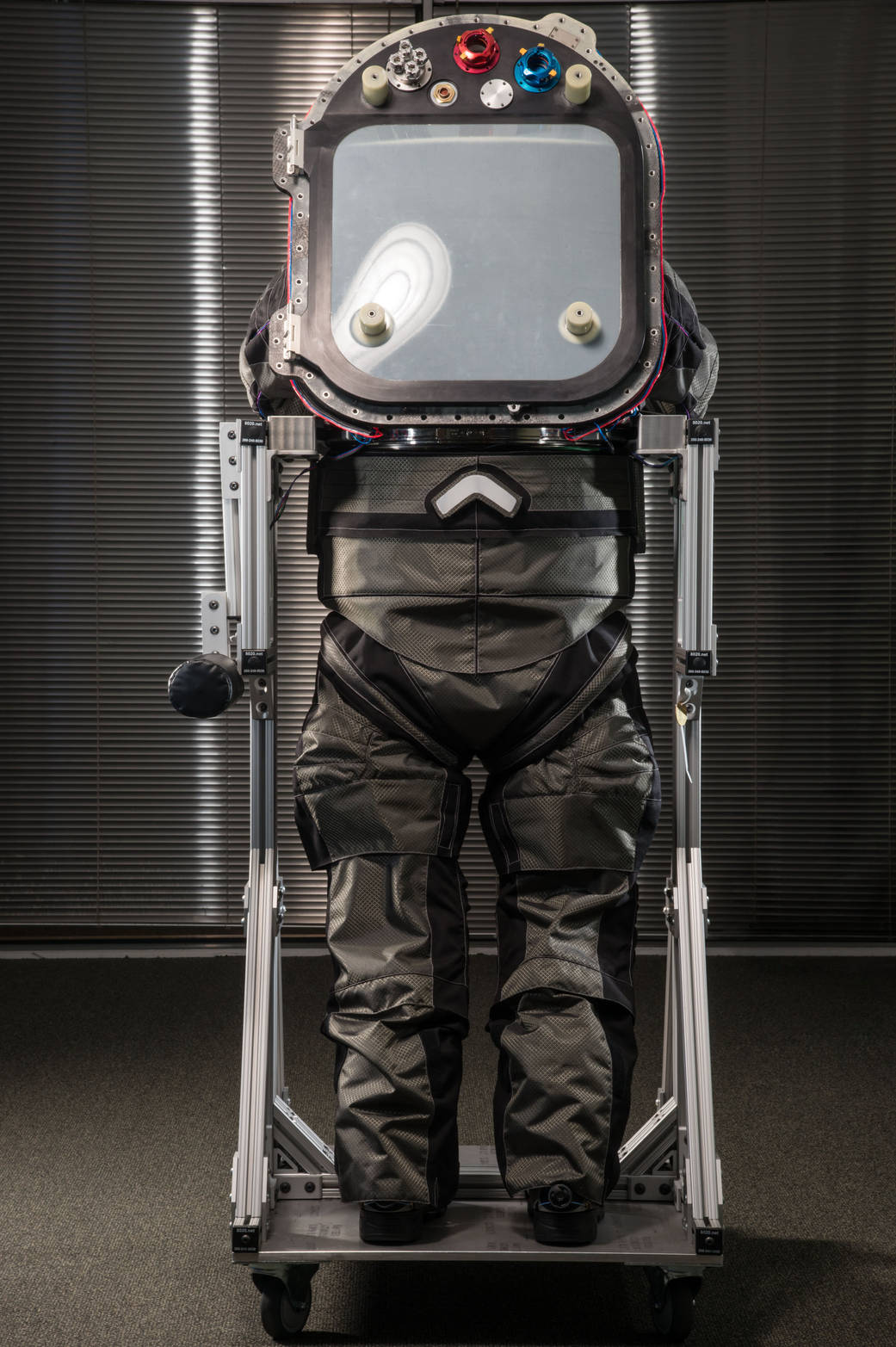 New spacesuit via NASA