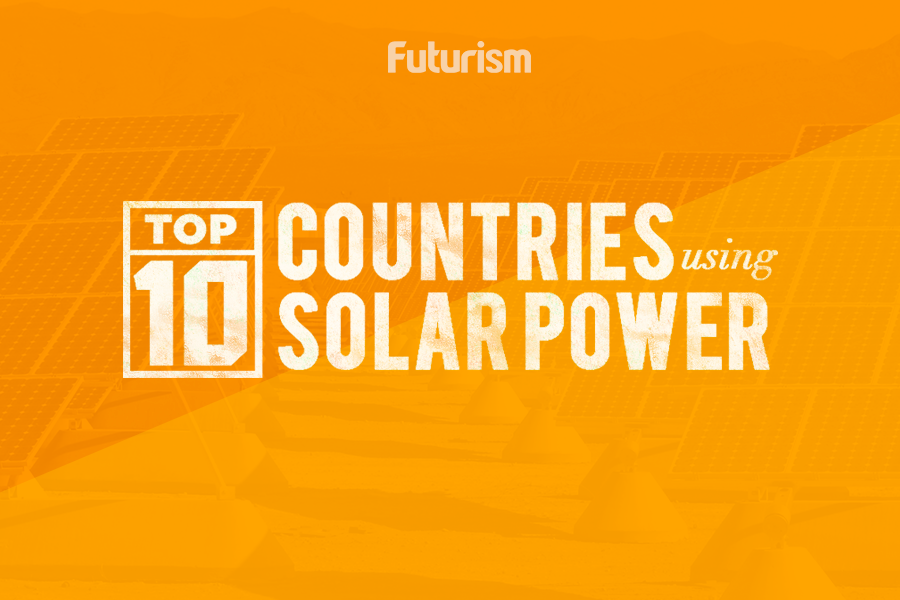 Top 10 Countries Using Solar Power