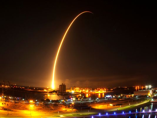 SpaceX launch. Image Credit: NASA