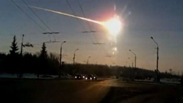 Russian meteor. Image Credit TASS