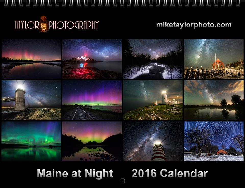 maine at night mike taylor