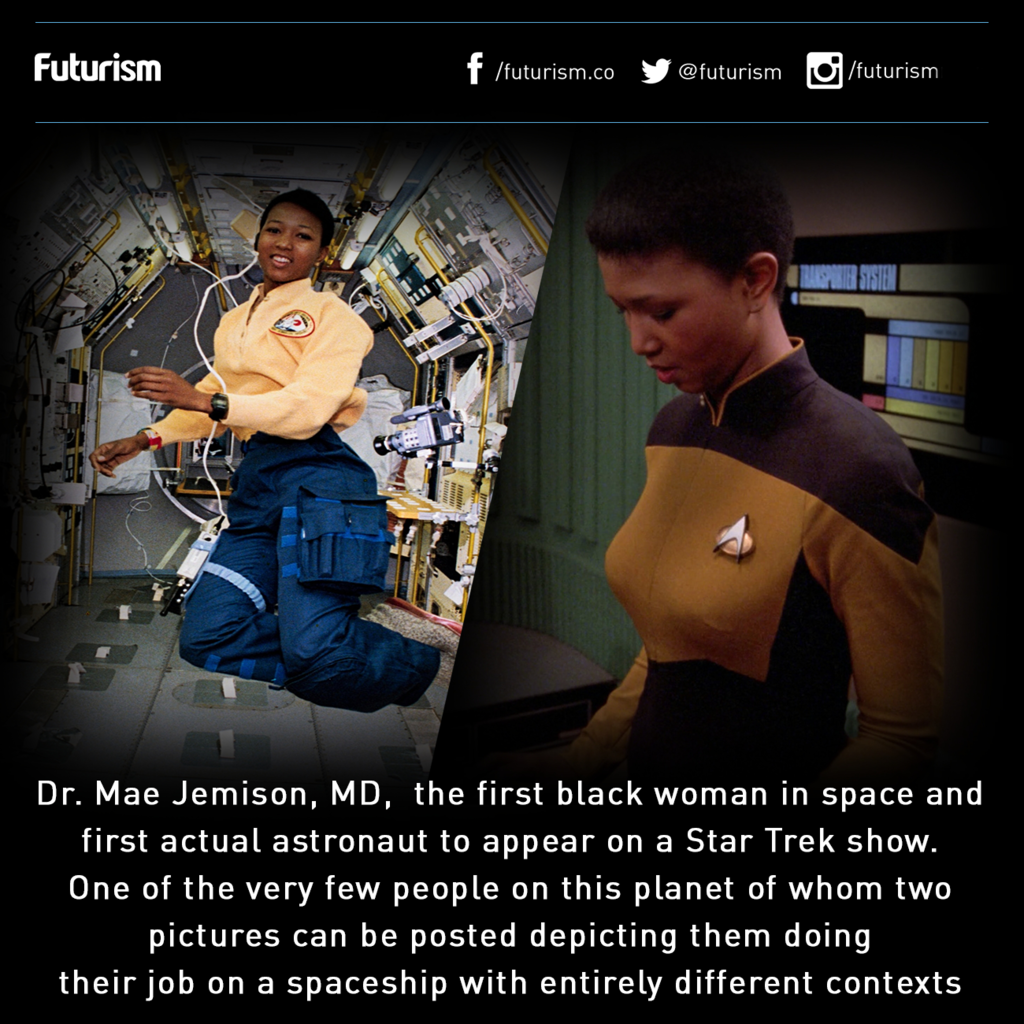 mae jemison the first african american woman in space and first