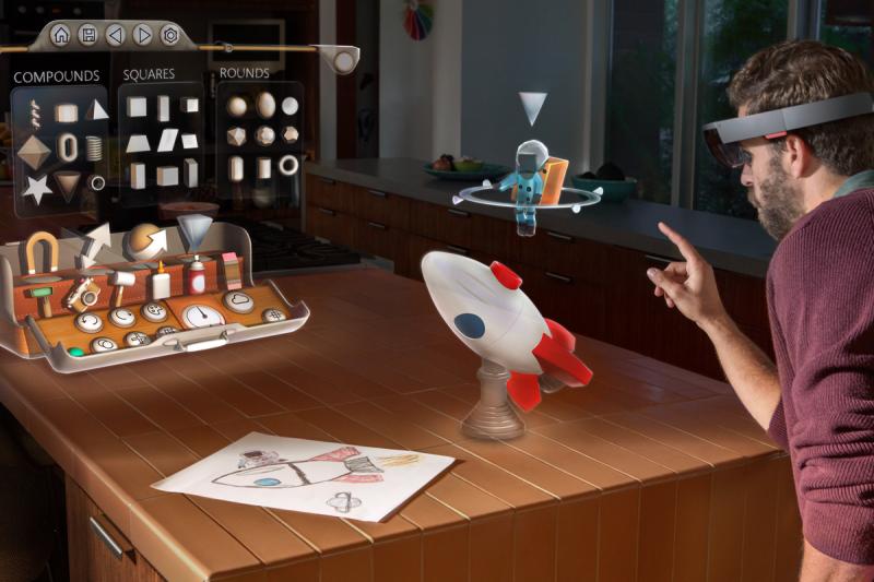 Image Credit: Microsoft HoloLense