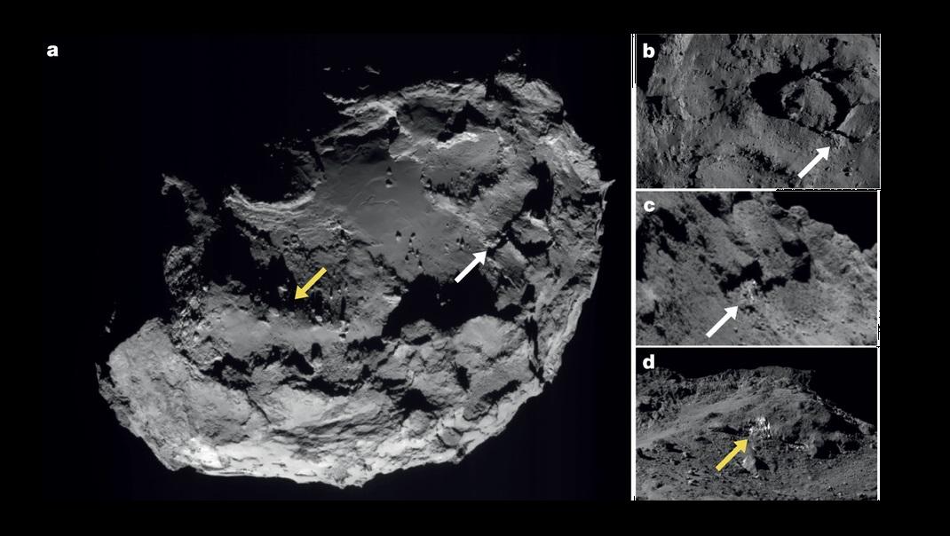 Image of 67P. Credit: Rosetta/ESA