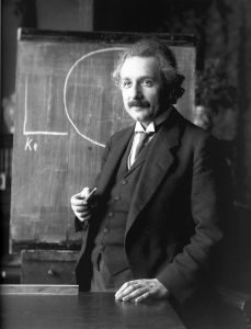 Albert Einstein in 1921. Image by F. Schmutzer