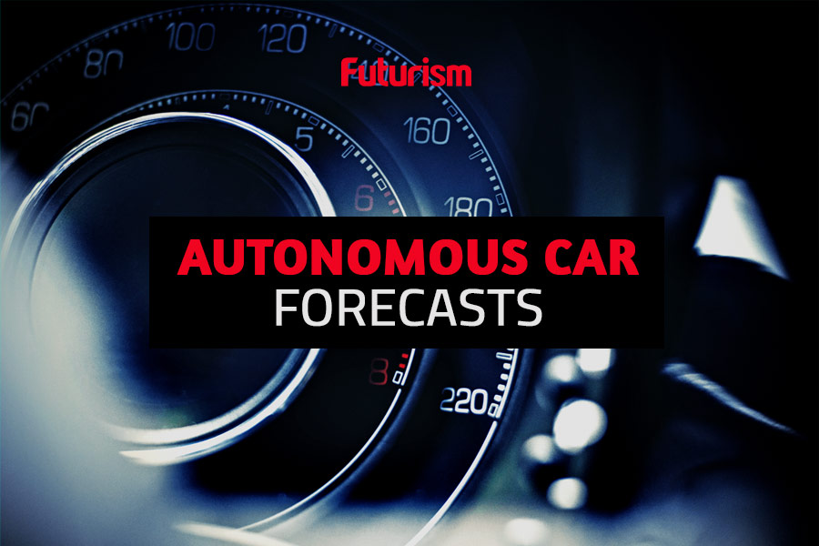 Autonomous Car Forecasts: When Will They Actually Be on Our Roads?