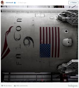 Elon Musk/ Instagram