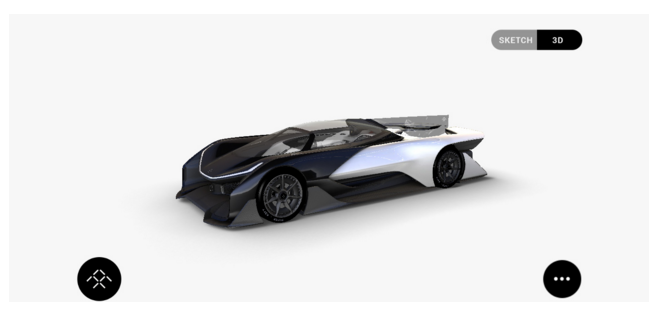 Faraday Future Concept Car 1