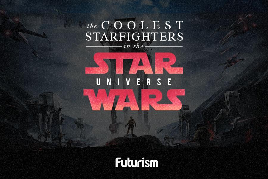Star Wars Starfighters: The Best Designs From a Galaxy Far, Far Away