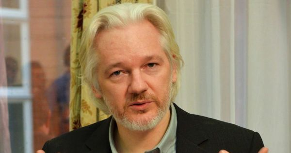 Wikileaks co-founder Julian Assange, currently holed up in the Ecuadorian Embassy in London. Credit: Reuters/John Stillwell