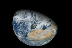 The Earth scores 82 percent on the habitability index. Image Credit: NASA