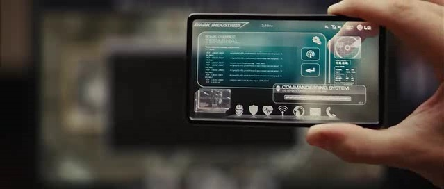 See through technologies made their way into the popular Iron Man movies.