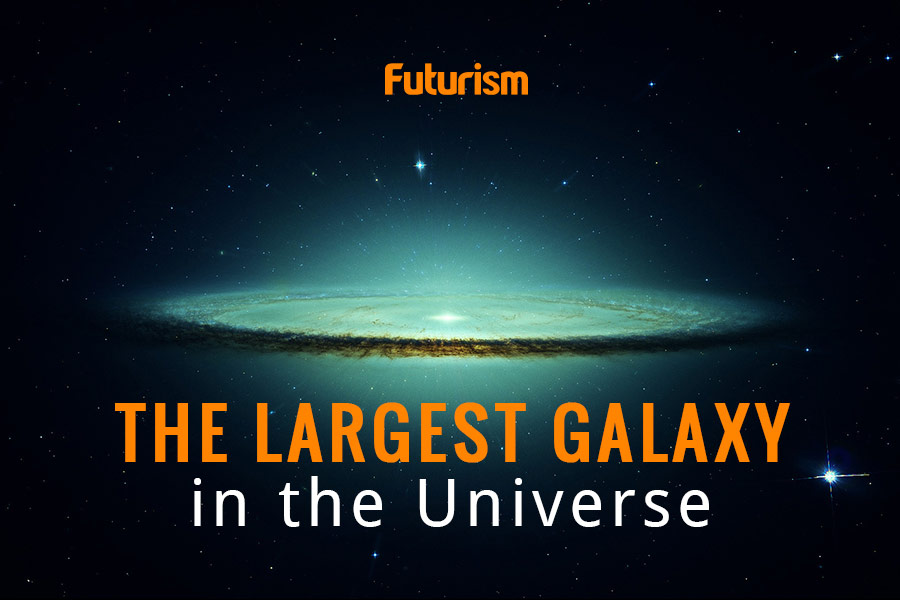 This is the Largest Galaxy in the Known Universe