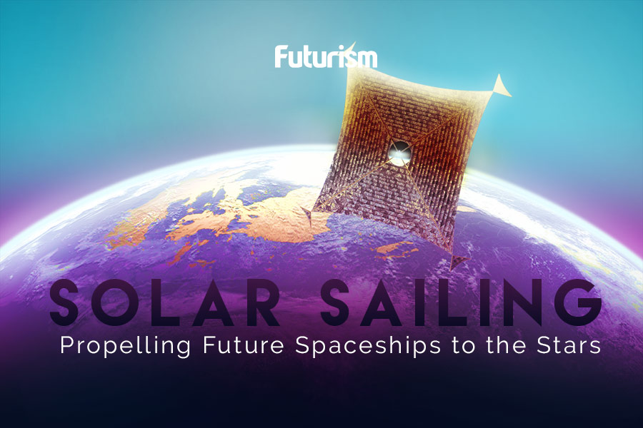 Solar Sailing: How We Could Harness the Power of the Sun to Travel to the Stars