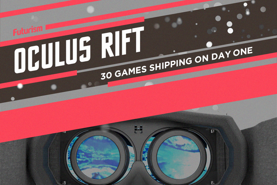 INFOGRAPHIC: Meet the Oculus Rift Games That Just Launched