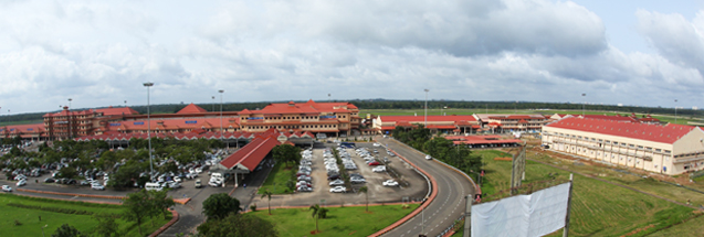 Cochin International Airport in India Image Credit: Cochin International Airport Limited