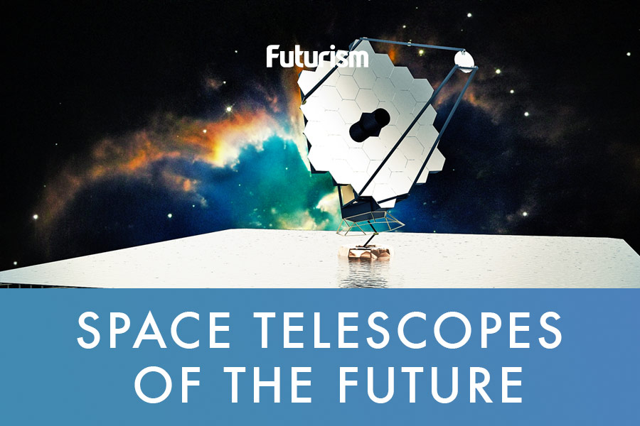 A Telescope 100X Stronger Than Hubble Will Unveil Parts of
