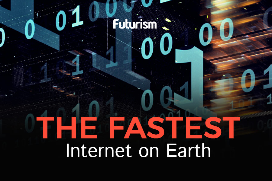This is the Fastest Internet on Earth