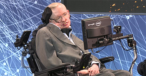 Stephen Hawking. Image Credit: BREAKTHROUGH STARSHOT