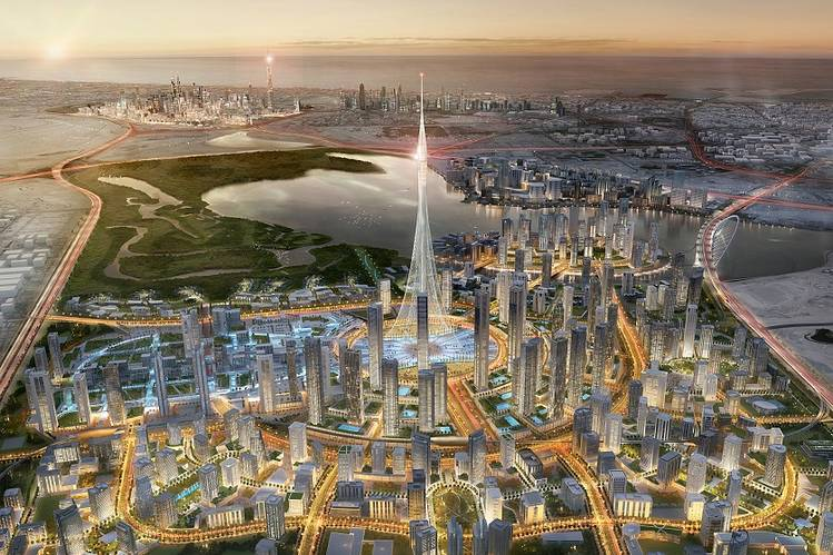 A simulation of the new Emaar Properties development in Dubai. PHOTO: EMAAR PROPERTIES