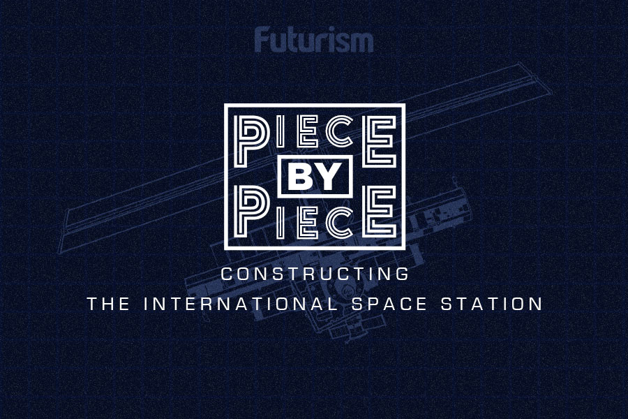 Piece by Piece: The International Space Station (INFOGRAPHIC)