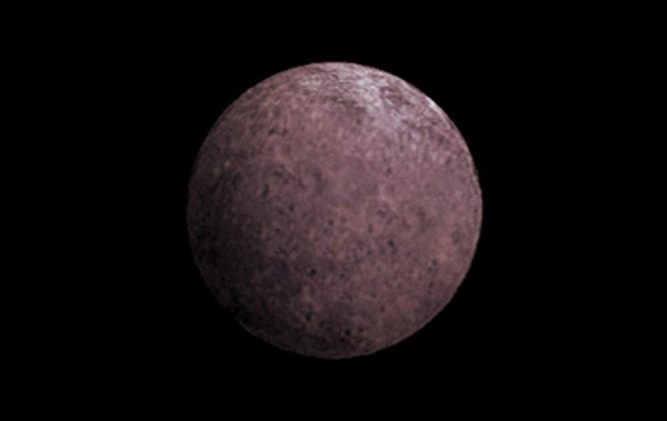 Artist's rendition of the dwarf planet. Credit: NASA