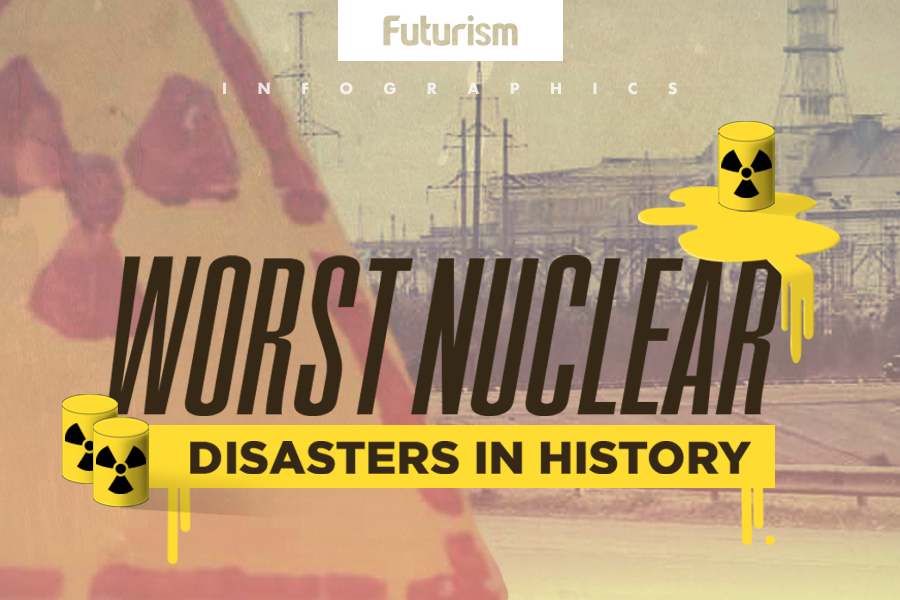 These Are The Worst Nuclear Disasters in History (Infographic)