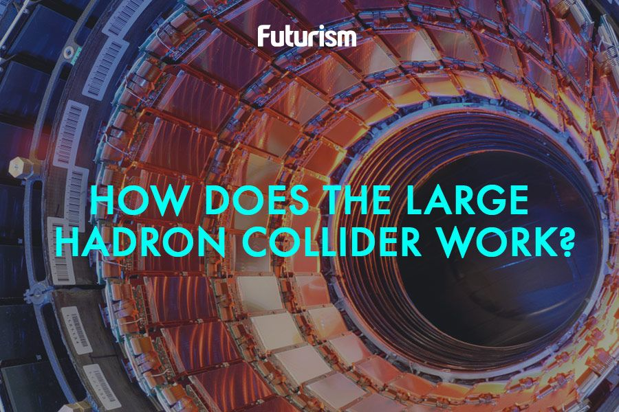 How Does The Large Hadron Collider Work? [Infographic]