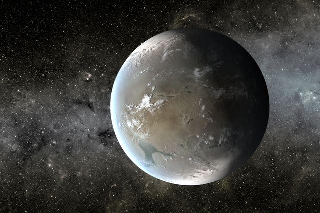 Exoplanet Kepler 62f. Credit: NASA Ames/JPL-Caltech/T. Pyle