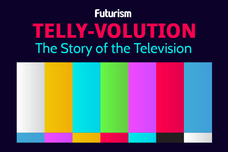 Telly-volution: The Story Of The Television [Infographic]