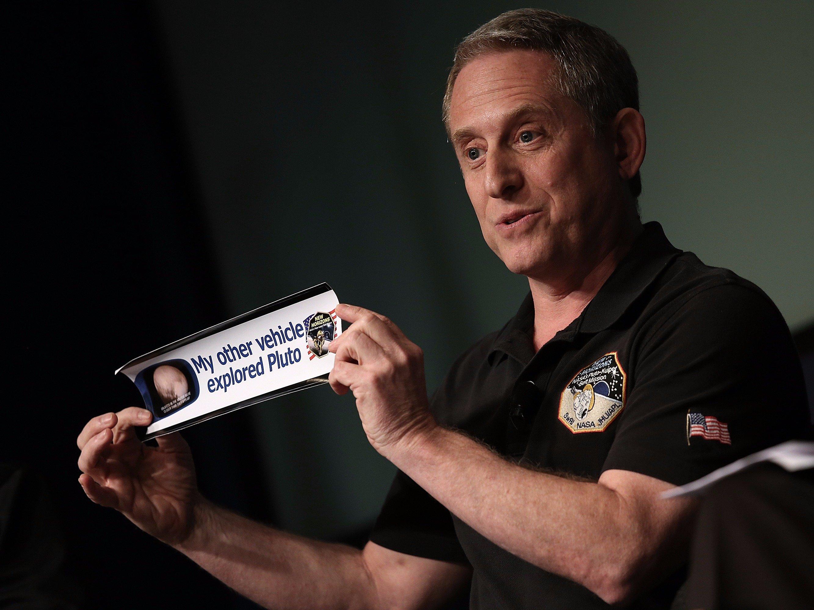Alan Stern. Credit: NASA