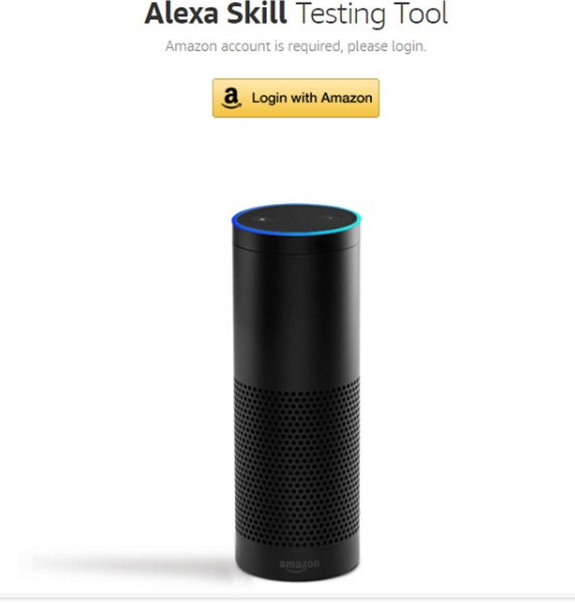 Test drive an Amazon Echo right from your browser. Credit: Amazon