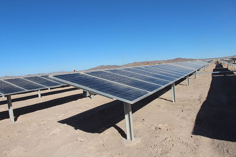 Solar plant in Chile