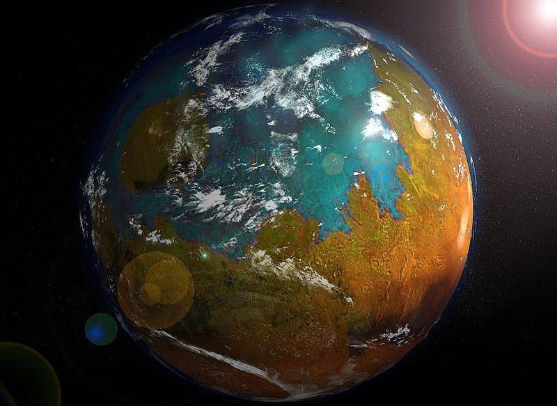Terraforming Mars into Earth 2.0