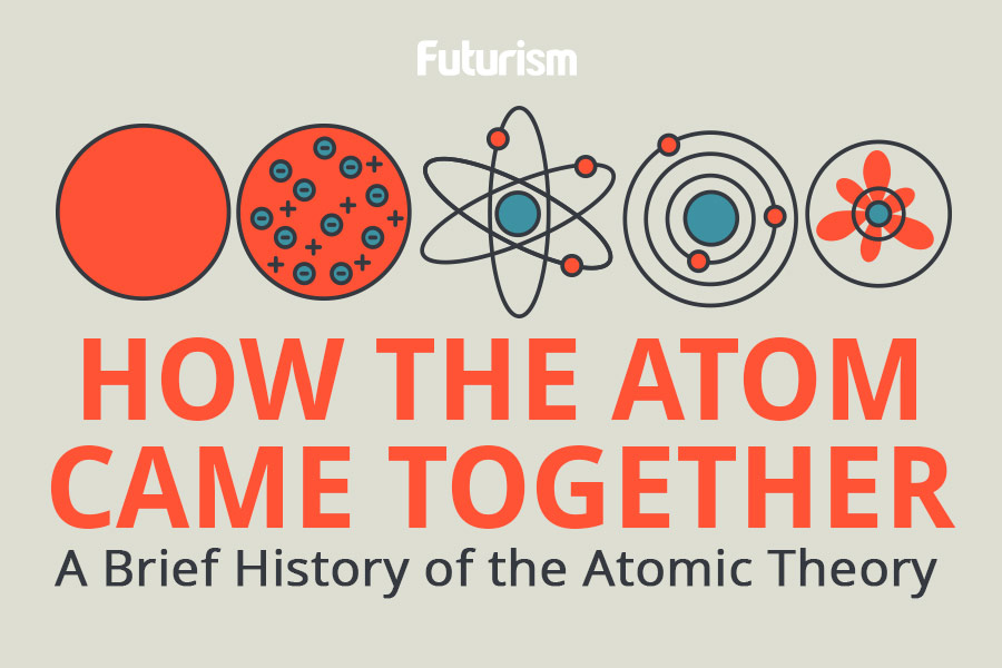 A Brief History Of Atomic Theory [Infographic]