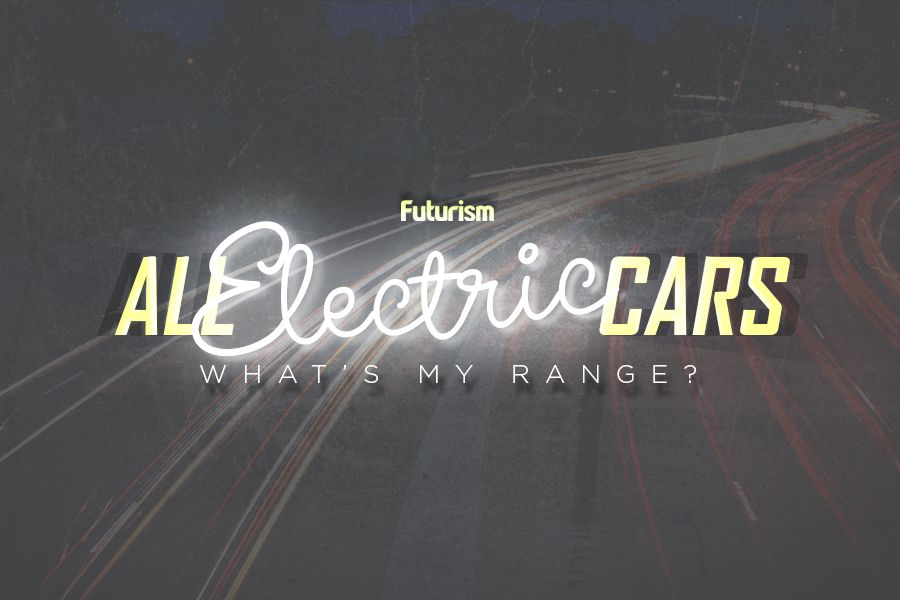 All Electric Cars: What's My Range? [INFOGRAPHIC]
