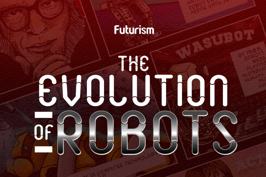 The Evolution of Robots [Comic]